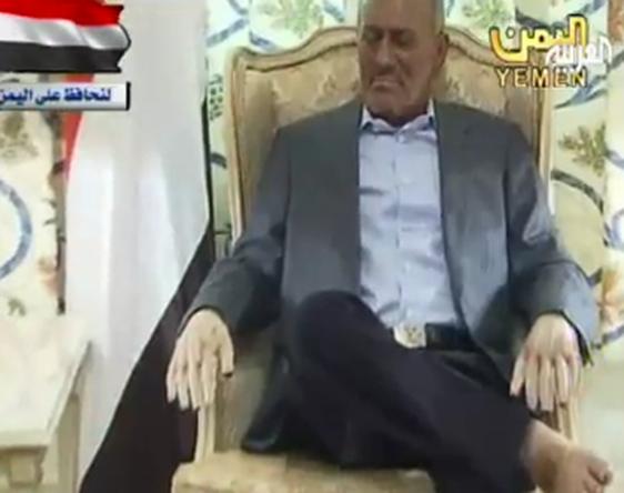 مأرب برس أكدت بأنه لا بد أن يوقع على المبادرة الخليجية مصادر أميركية في واشنطن صالح قرر بشكل نهائي عدم العودة إلى اليمن والبقاء في السعودية إلى جانب زين العابدين بن علي